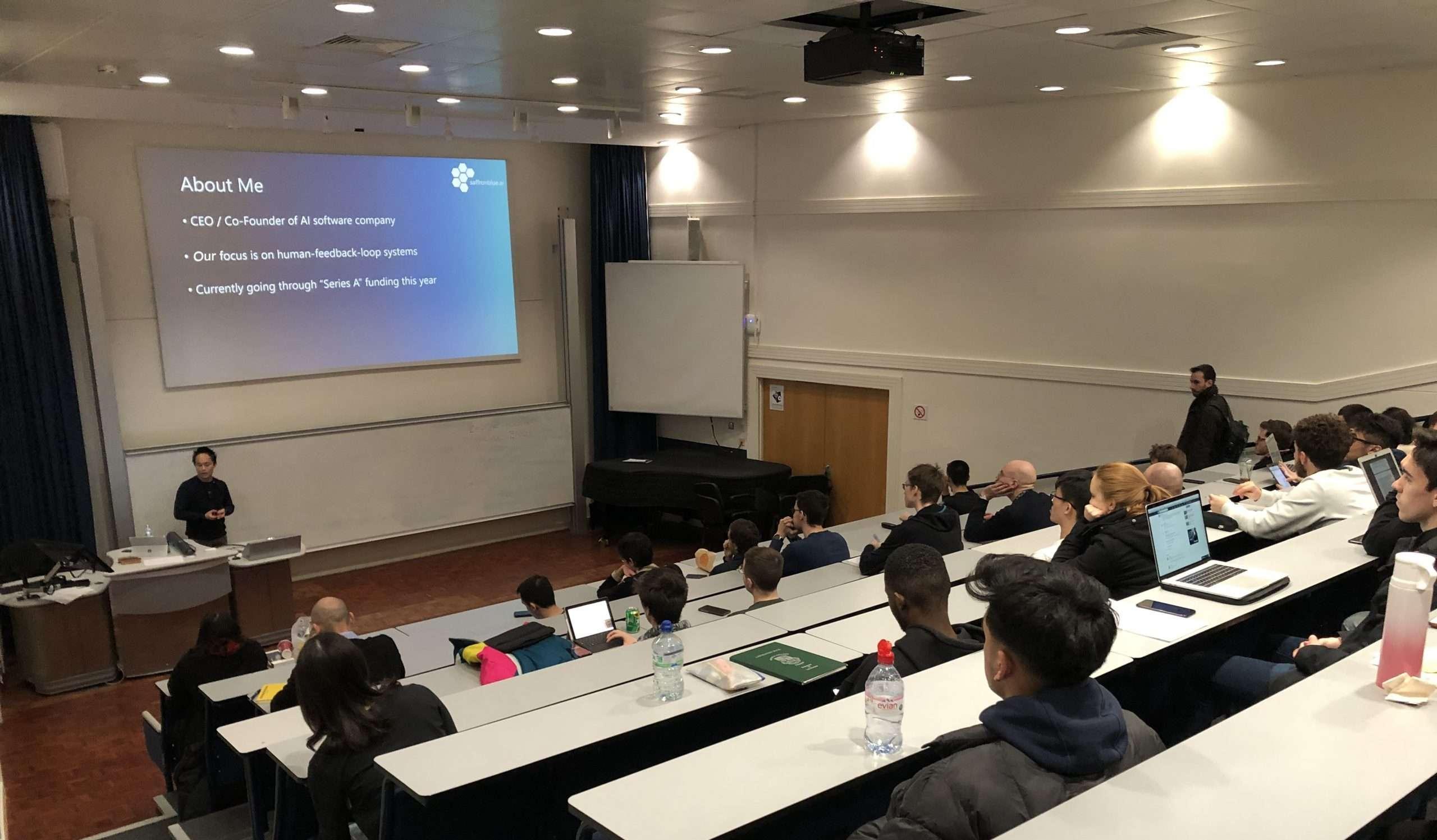 SaffronBlue.aiSaffronblue.ai at Imperial College   Driving the Future of AI